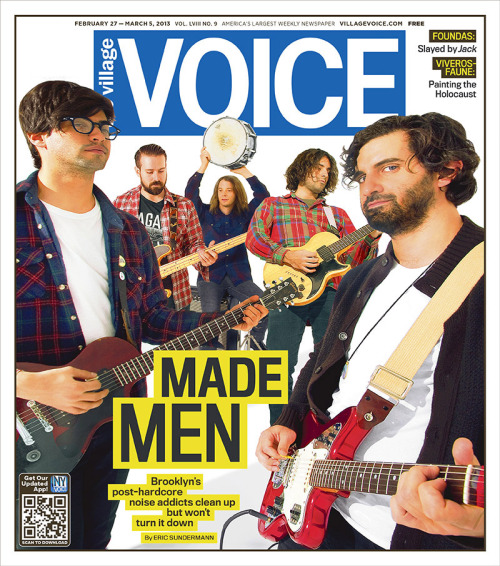 On this week's cover: The Men. Brooklyn's post-hardcore noise addicts clean up but won't turn it down.