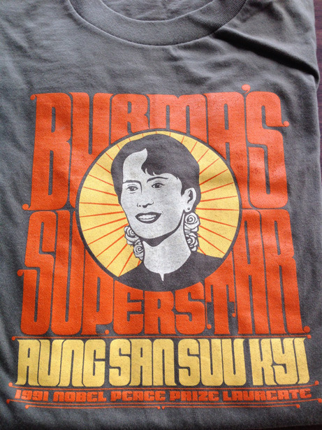The Aung San Suu Kyi Tshirt, designed by The Department.