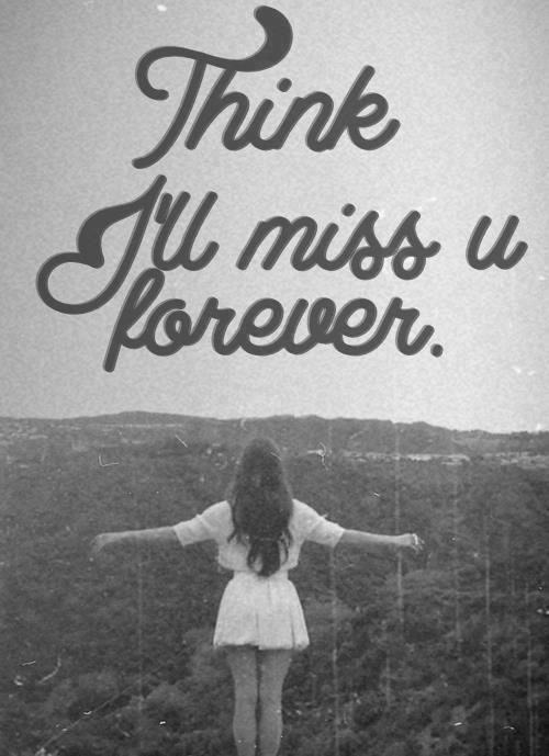 princessshaiannucute:  i'll miss you forever | via Tumblr on @weheartit.com - http://whrt.it/18dDBCt