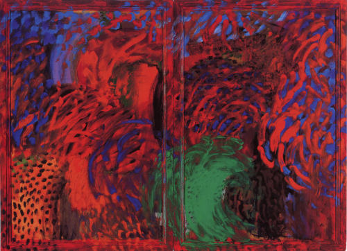 cavetocanvas:  Howard Hodgkin, When Did We Go To Morocco?, 1988-93