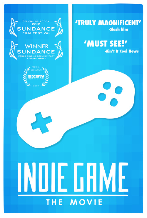 Indie Game: The Movie I just watched one of the most touching and inspiring movies ever.