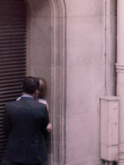 shoulderblades:  paris street view no. 16, part of michael wolf's we are watching you... series, 2009 wolf spent hours scanning paris on google street view, identifying surprising moments, mundane gestures, behavior and anonymous people as they unsuspectingly go about their daily life.