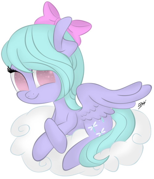 theponyartcollection:  Flitter by ~RAwRcutiePIE