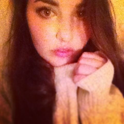 Rugged up after a hard night of drinking and partying Instagramed via madeline_wood