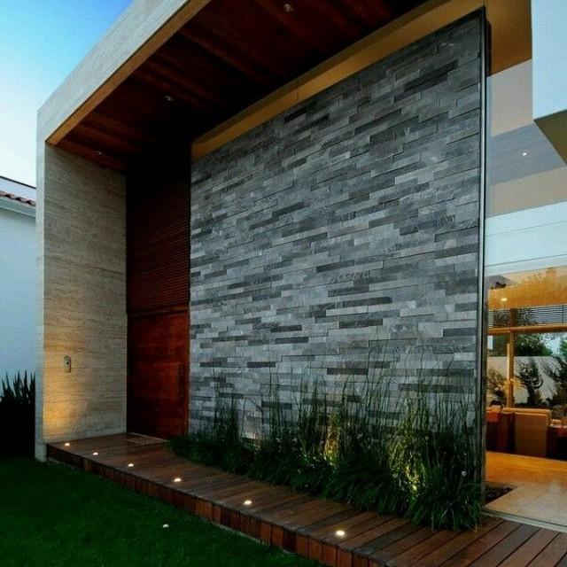 Arquitectura creativa detalle decorativo en fachada for Fachadas exteriores minimalistas