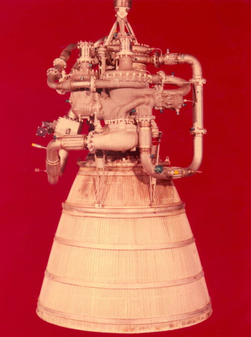 balnibarbi:  XLR-115 hydrogen fueled rocket engine developed by Pratt and Whitney Aircraft by State Library and Archives of Florida http://flic.kr/p/ejZXrq