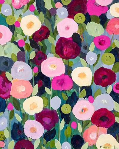 lovxn:  Night Garden - Carrie Schmitt