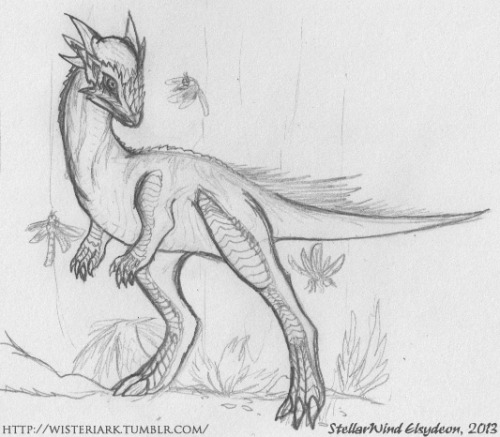 fuckyeahdinoart:  Stygimoloch spinifer, because I find the species utterly adorable.