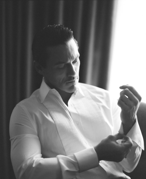 author-jpk:  Luke Evans - Photographed by Alistair Guy.