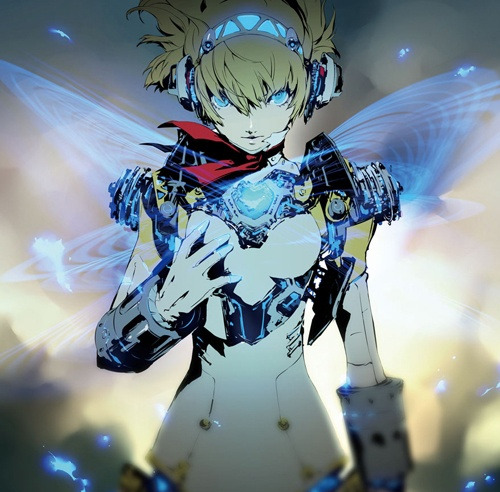 datniggaonline:  Aigis artwork from Lord of Vermilion Re:2 by Shigenori Soejima