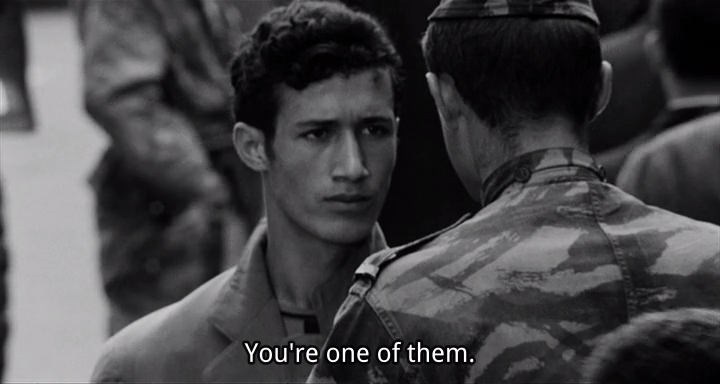 from Gillo Pontecorvo's The Battle of Algiers.