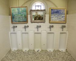 art manet monet renoir Great Art in Ugly Rooms Battleship Texas