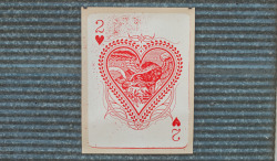 Two of Hearts by Steady Print Shop Co.