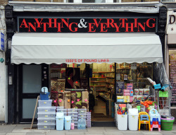 Anything & Everything, Stroud Green Road N4