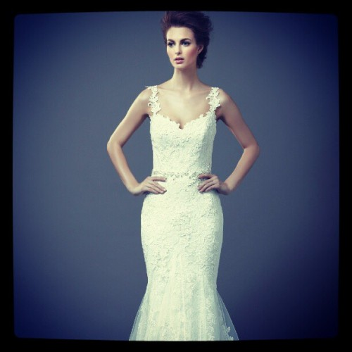 enzoani:  Beautiful lace detailing in the 2013 #Enzoani collections #fashion #style #bridal #weddings