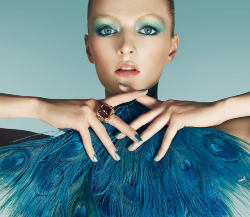 dior:  'Bird of Paradise' Summer Makeup Collection 2013