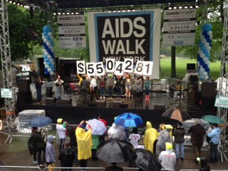 This year's final number! Thank you everyone for making this a great AIDS Walk! #COMMUNITY #AIDSWalkNY #SUCCESS