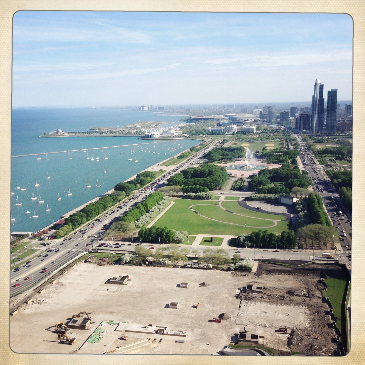View #1 from the Firm's Office in Chicago