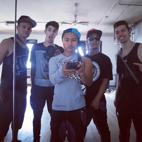 iamhok:  NYC rehearsal for @scotty_nguyen with @phillipchbeeb @areyouu @kylewaynecordova @kmcleantricks