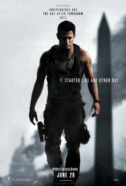 Happy Tatum Tuesday! Channing Tatum's action/thriller White House Down hits theaters June 28th. Check out the first poster and watch the trailer here: http://aol.it/YD5PU2