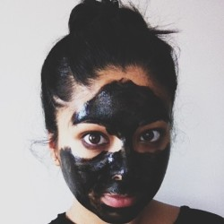 NINJA! (Or maybe just using @bosciaskincare's black mask)