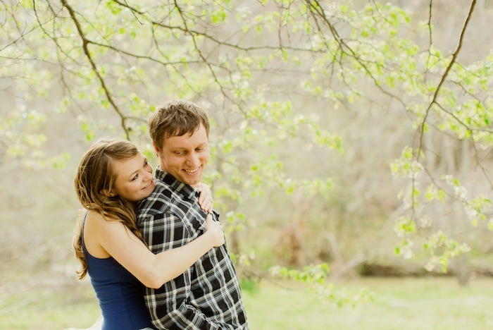 awww My pal Amanda's engagement shoot is pretty adorable. [Photo by Christopher Nolan Photography]