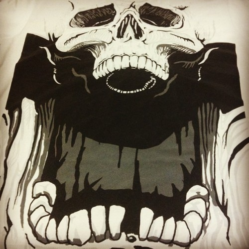 "NEW Limited Edition ""Agent Skully"" by @jimiyo  $15 today only (at www.designbyhumans.com)"