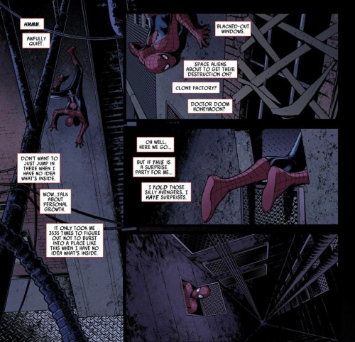 lalalunascope:  Spider-Men #1