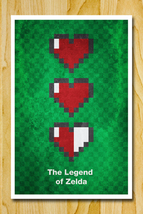 thosegaminggurus:  Gaming Posters Available on Etsy