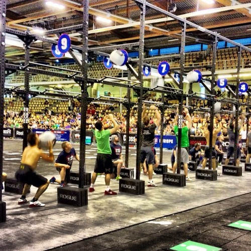 stuckinstudio:  Crossfit Games European Regional | Day 2 | 100 workout #crossfit #crossfitgames #copenhagen