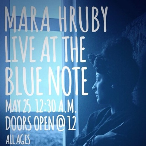 NYC :: I Shall See You On 5/25 At Blue Note Jazz Club  :: Get Your Tickets Before It Sells Out! #FromHerEyes #ArchaicRapture #BlueNote