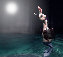 "Would you have tea with this Hare? Check out the Second Life Pic of the Day, ""Hare"" by caduceuslorakeet: http://bit.ly/123oBVU"