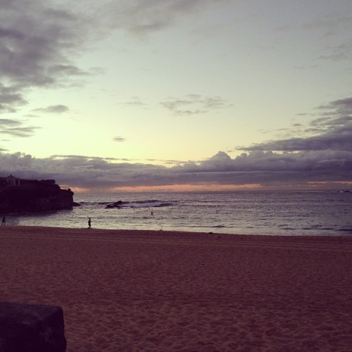 #morning #photoshoot at #coogee #beach waiting for #sunrise #beautiful #scenery  #sydney #nsw