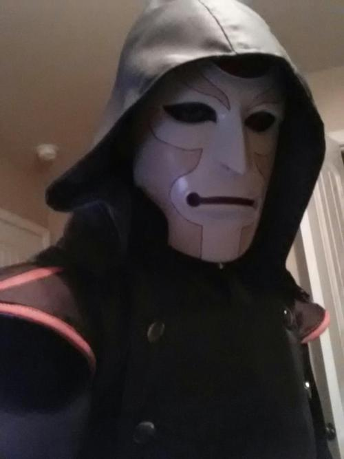 fmnikku:  My Amon cosplay is more or less finished. I need to add some details to the gloves and figure out a solution for the boots but the bulk of it is finished! If anyone out there has done the costume and has suggestions or advice, shoot me a message.