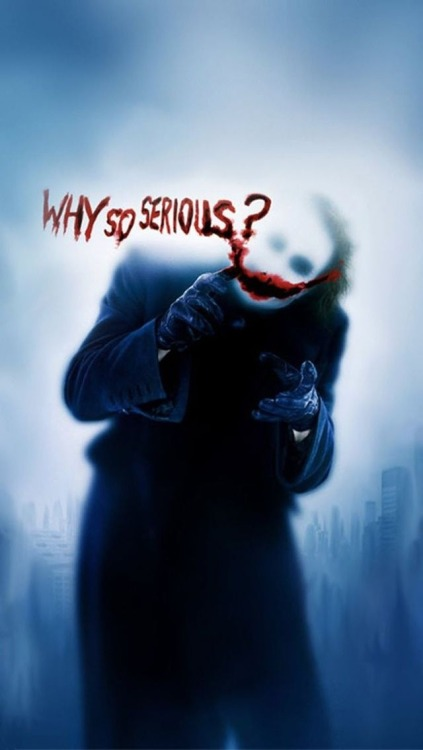 Why so serious iPhone5 Wallpaper