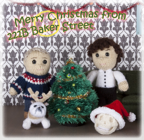 'Merry Christmas from 221B Baker Street' by Kat Bifield