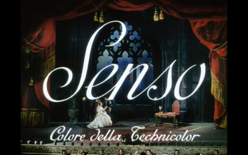 Senso (1954)Director: Luchino Visconti