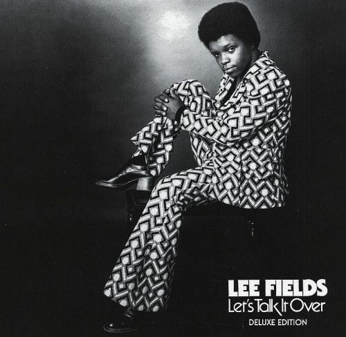 Listening to classic Lee Fields, finally, instead of just him and The Expressions. It is great. Having seen the man live, I can say that those amazing heels he's wearing on this cover are real utilitarian. He's very short.