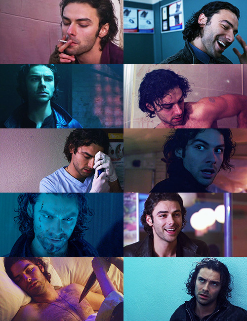 Aidan Turner as John Mitchell in Being Human
