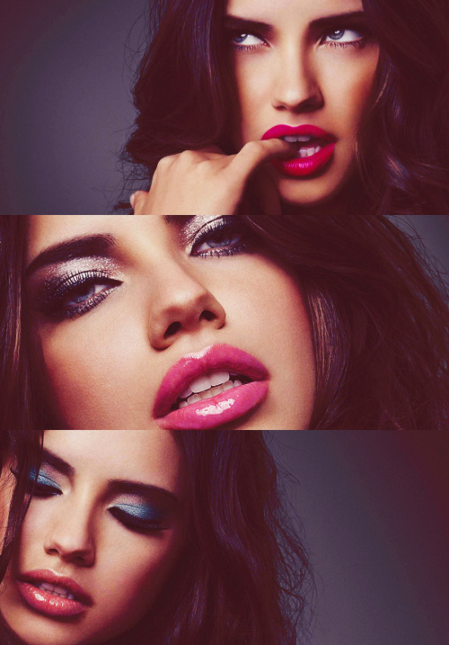 feriellebslm:  adriana lima | Tumblr on We Heart It - http://weheartit.com/entry/59957250/via/ferielle_b Hearted from: http://coldheadbeliver.tumblr.com/post/49191540552
