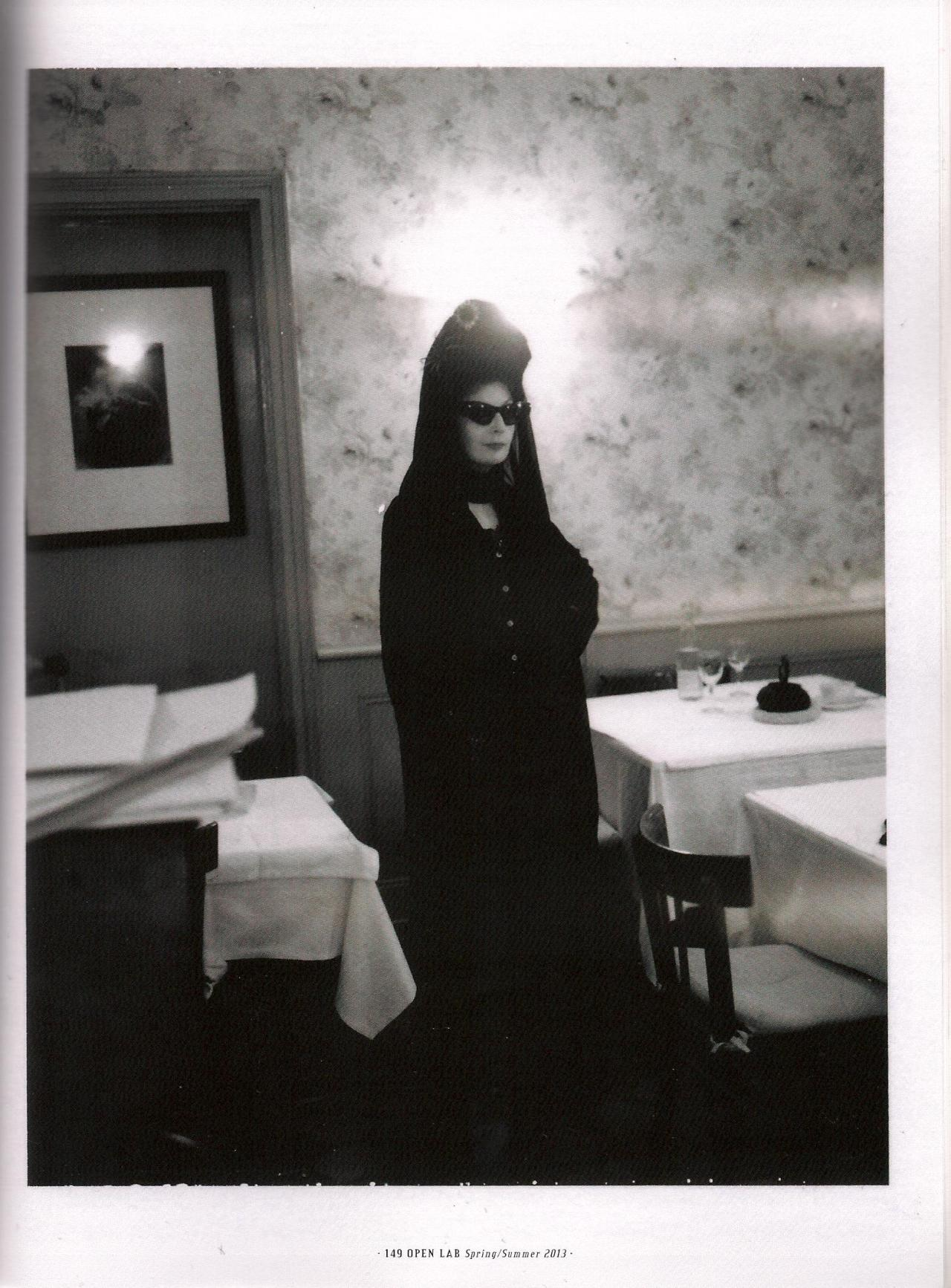 Diane Pernet by Alice Rosati Open Lab issue 8