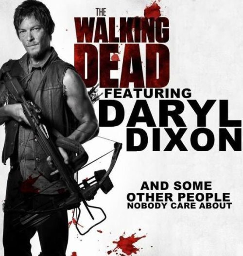 dalton-campbell:  Daryl is a first class badass, but I still think that Glen, Maggie, Dale, Meryl and Herschel are my favorite before him