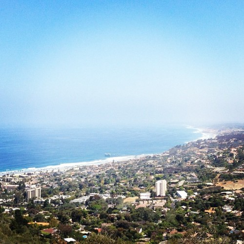 San Diego view from Mt. Soledad. #sandiego  (at Mt. Soledad)
