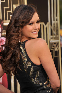 "teamninadobrev:  Nina Dobrev attends the ""The Great Gatsby"" world premiere in NYC - May 1st 2013  Just, wow"