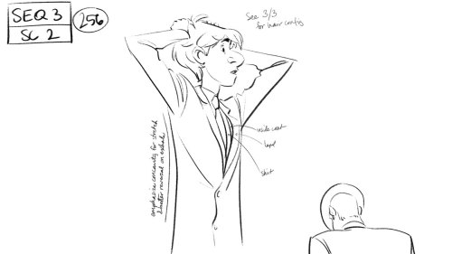srunpoco:  Concept Art para THE PAPERMAN.