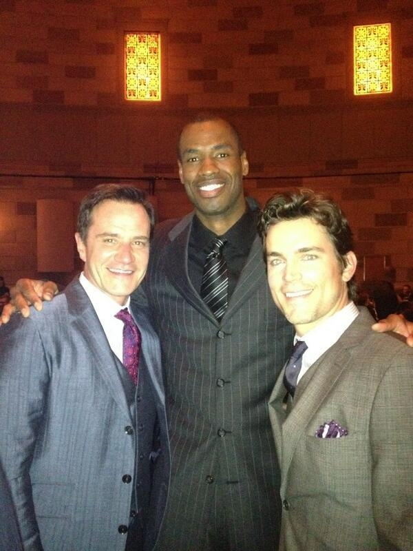 Tim DeKay, Jason Collins and Matt Bomer at the GLSEN Awards