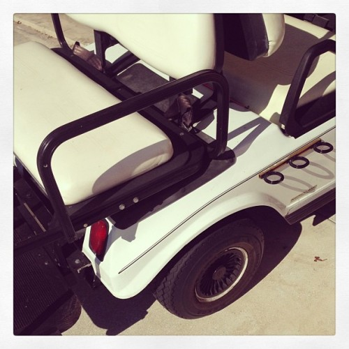 Wheels for the Day #golf #white #black