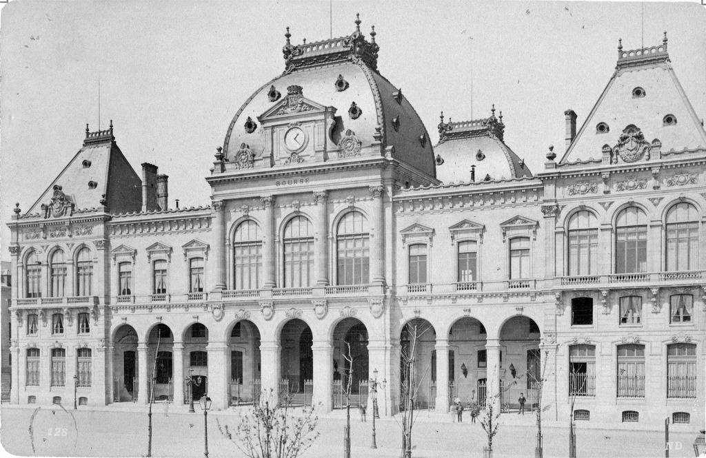The stock exchange building, Le Havre