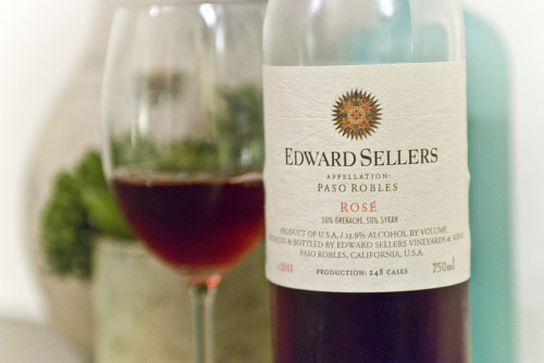 Edward Sellers | 2011 Rosé A 50/50 blend of Grenache and Syrah, and one of the biggest surprises from our recent Paso Robles visit. I believe this was a $12 bottle, and of all the rosés we had the pleasure of consuming was head and shoulders above with the exception of Denner's…which was also north of $30.  Find some. Buy some.