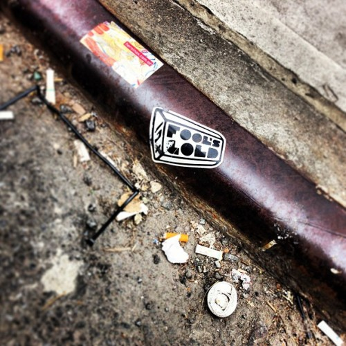 #foolsgold #sticker #tag #nyc